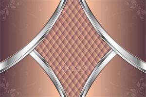 fond métallique de luxe rose et argent
