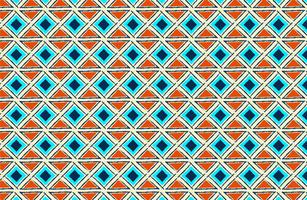 motif de tissu sans couture ethnique vecteur