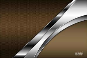 fond métallique moderne marron et argent
