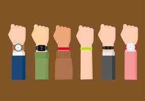 vecteur libre de bracelet