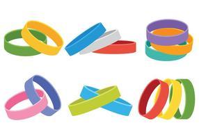 Wristband icônes vectorielles
