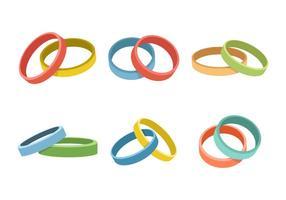 Wristband Collection Illustration Vectorisée