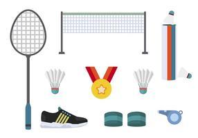Vecteurs essentiels du sport plat vecteur