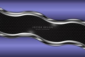 fond métallique moderne et coloré vecteur