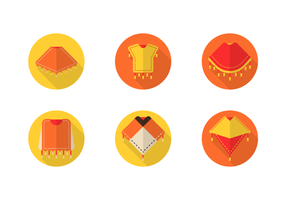 paquet vectoriel poncho gratuit