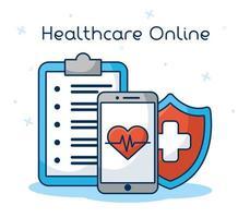 technologie de santé en ligne via smartphone