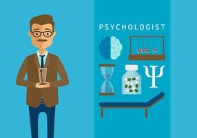 icon psychilogiste vecteur gratuit