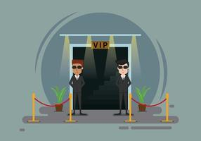 illustration libre de bouncer vecteur