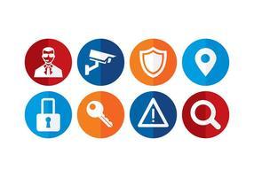 Icône de sécurité vecteur gratuit