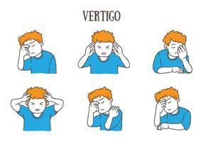 illustration de vertige vecteur