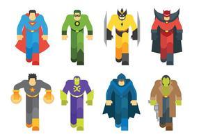 Icônes vectorielles de Super Heroes