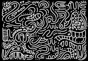 vecteur abstraite de squiggle