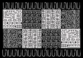 Vector de motifs Squiggle