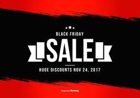 Affiche promotionnelle du vendredi noir