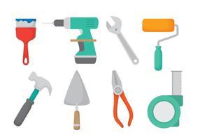 Ensemble d'icônes Bricolage vecteur