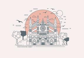 Vecteur de l'abbaye de Westminster