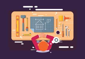 Vector de planification de bricolage Bricolage gratuit