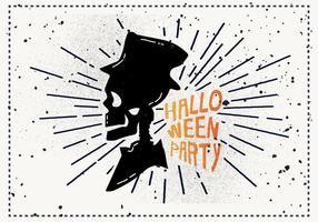 Illustration vectorielle gratuite Vintage Halloween vecteur