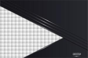 fond métallique noir et blanc moderne