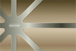 fond métallique doré moderne