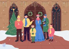 choeur de l'église de Noël