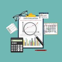 Audit du concept d'évaluation des données vecteur
