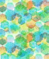 motif de flocons de neige multicolores