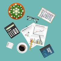 concept d'éléments d'audit vecteur