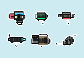 Winch Free Pack Vector