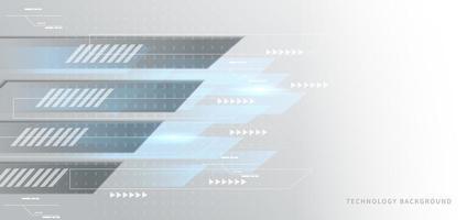 lignes de mouvement superposées géométriques bleues sur fond gris vecteur