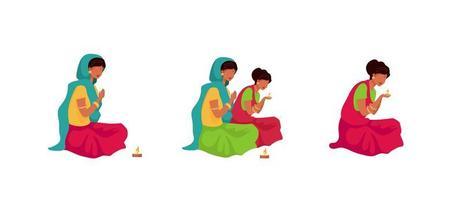 ensemble rituel puja
