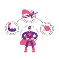diagramme d'archétype de héros