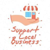soutenir la campagne commerciale locale avec la construction de magasins