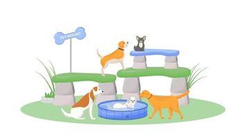 station pour animaux de compagnie premium
