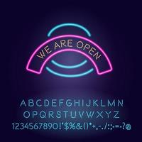nous sommes des néons ouverts