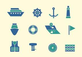 Vecteurs portuaires libres vecteur