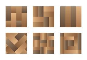 Icônes vectorielles en stratifié
