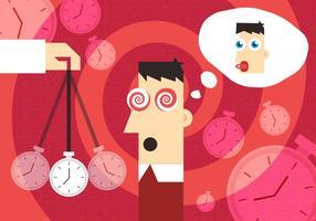 Vecteur illustration hypnose
