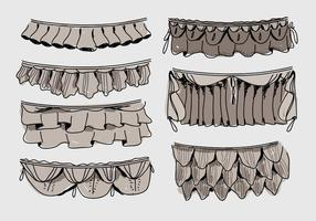 Frills Illustration vectorielle dessinés à la main