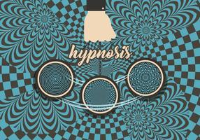 Vecteur de fond d'hypnose