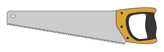 icône d & # 39; instrument de travail du bois scie à main