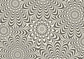 Fond de vecteur hypnotique brun
