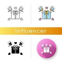 icône de promotion de produit. offre spéciale. vecteur