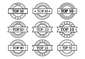 top 10 étiquette