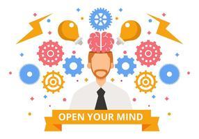 Vecteur libre de concept d'idée