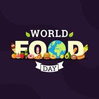 texte et éléments de la journée mondiale de l'alimentation