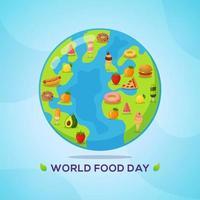 affiche de la journée mondiale de la nourriture