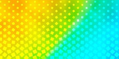 fond bleu clair et jaune avec des rectangles.