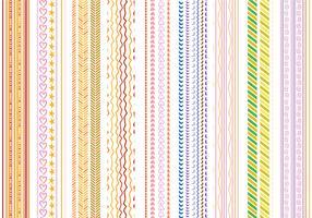 Free Stripes Patterns Vecteurs vecteur