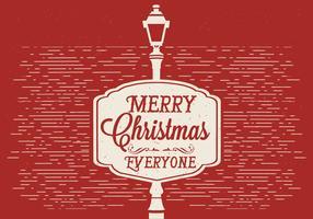 vecteur libre carte de Noël design